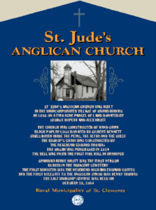 St. Judes Anglican Church Sign