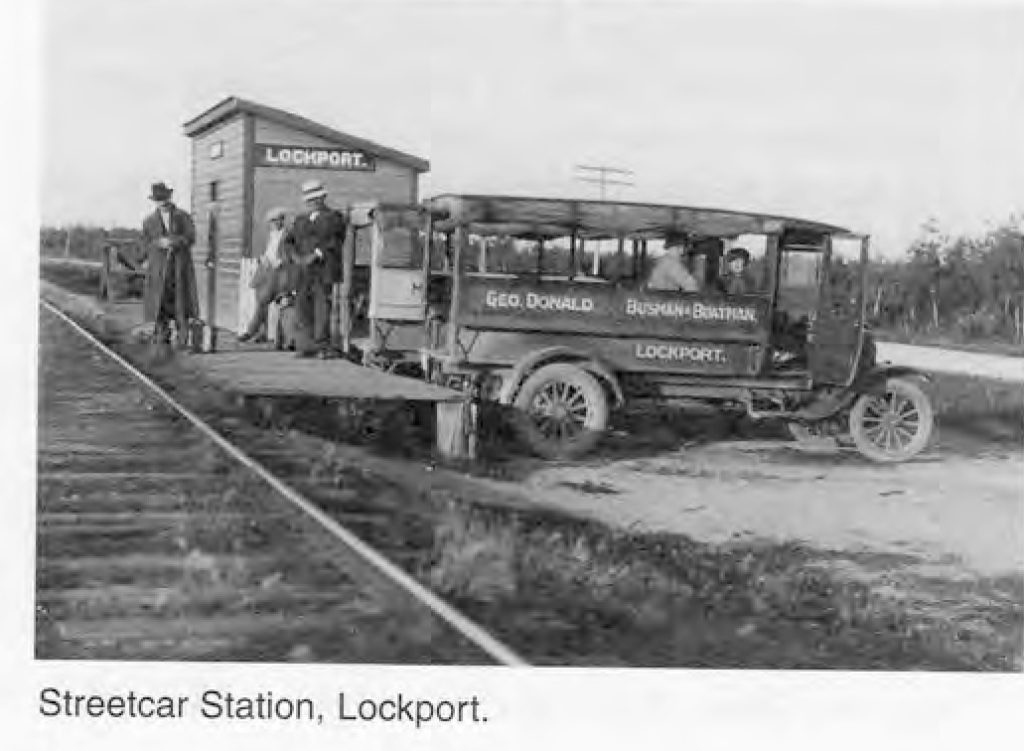 Streetcar Station, Lockport