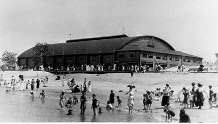 1930c Grand Beach Dance Pavilion