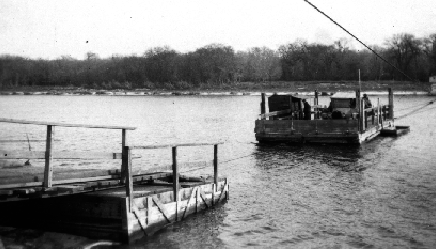 Selkirk ferry, Nov 1923